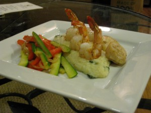 Shrimp, Scallops and Grits